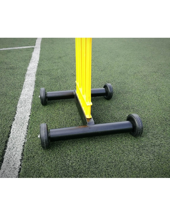 Wózek na 1 postać muru piłkarskiego ELITE, podstawka